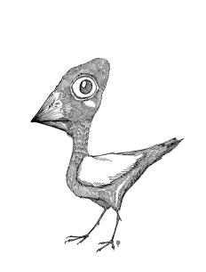 Un petit oiseau.
